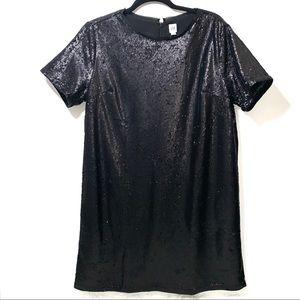 GAP | NWT Black Sequin Dress